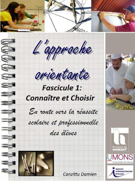 Fascicule de français «Connaître et Choisir»